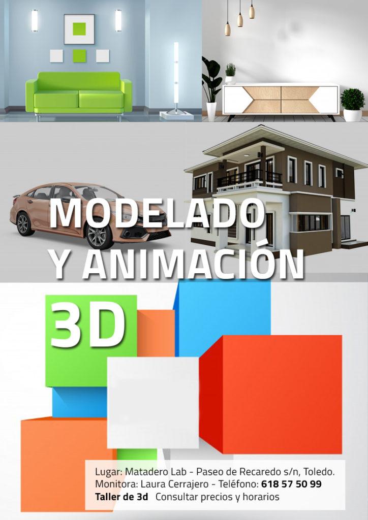 curso de 3d y modelado en Toledo