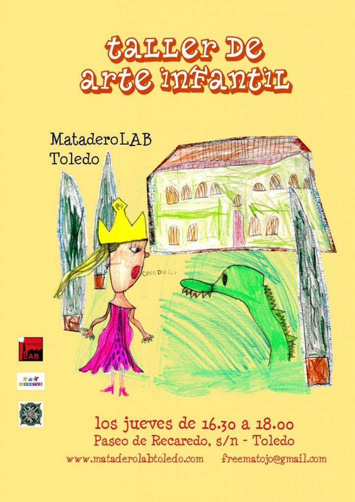 cartel taller de arte infantil