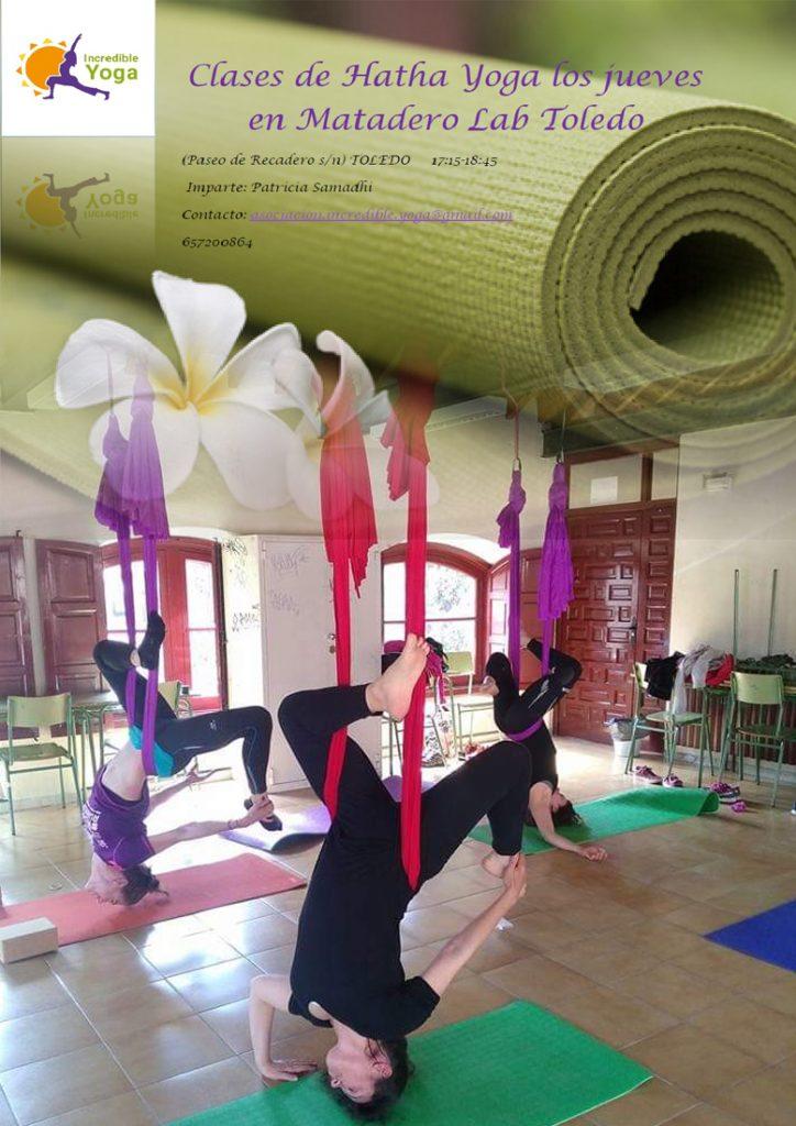 cartel taller hatha yoga