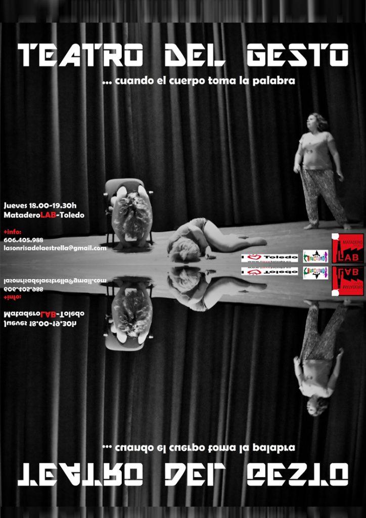 cartel del taller teatro del gesto