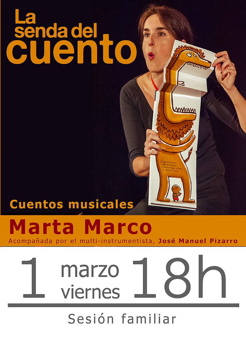 Cuentos musicales para todos los públicos con Marta Marco en Matadero Lab Toledo