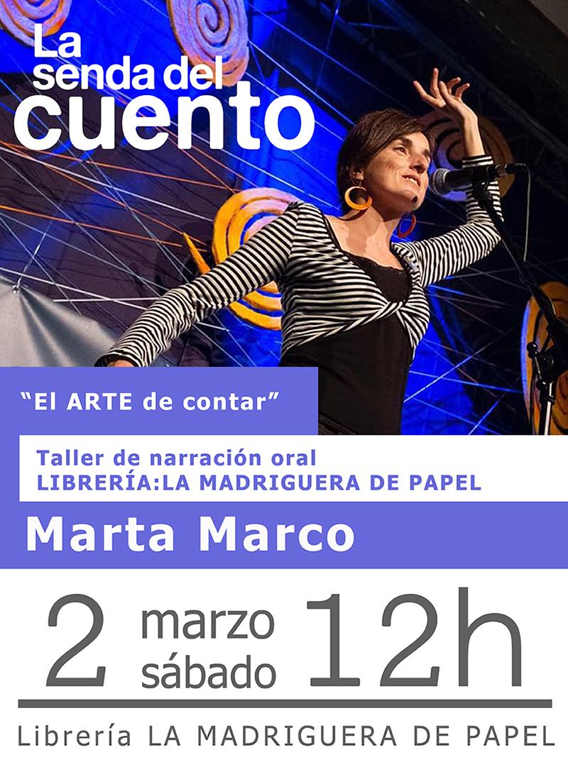Taller de cuentos de Marta Marco en Matadero Lab Toledo