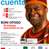 """BONI OFOGO / """"El elefante que perdió su ojo"""""""